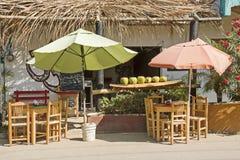 Barre de fruit mexicaine de rue image libre de droits