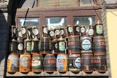 Barre de hutong de Pékin Photos stock