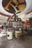 Barre de Max Brenner Chocolate à Tel Aviv, boulevard de Rothshild, Israël Photographie stock libre de droits