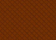 Barre de modèle de chocolat. milieux bruns Photos stock
