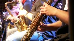 Barre de musique de saxo de trompette banque de vidéos