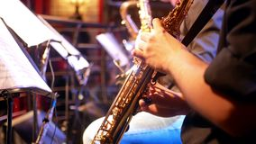 Barre de musique de saxo de trompette clips vidéos