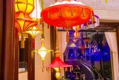 Barre de parasol de Las Vegas Images libres de droits