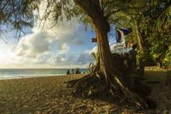 Barre de plage Photos stock