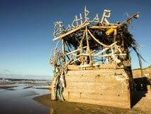 Barre de plage Images stock