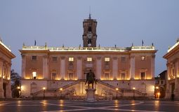 barre de Rome de photo de musée de capitoline photographie stock