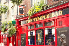 Barre de temple, Dublin, Irlande Photographie stock libre de droits