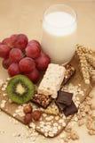 Barre del cereale Fotografie Stock Libere da Diritti