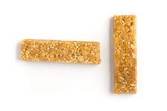 Barre del cereale di muesli Nutri, avena, barre della proteina Immagini Stock Libere da Diritti