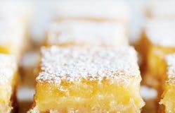 Barre del limone immagine stock libera da diritti