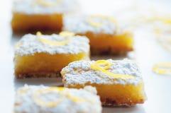 Barre del limone Fotografia Stock Libera da Diritti