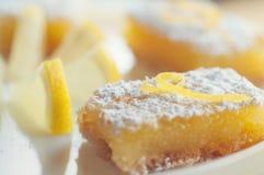 Barre del limone fotografie stock libere da diritti
