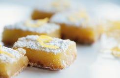 Barre del limone fotografie stock