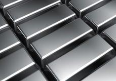 Barre del platino Immagini Stock Libere da Diritti