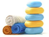Barre del sapone. Immagini Stock