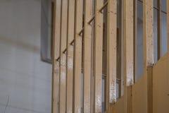 Barre della prigione, fine su fotografia stock