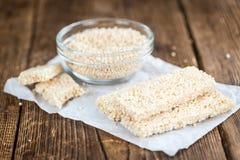 Barre della quinoa Fotografia Stock Libera da Diritti