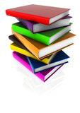 Barre des livres brillants 02 Photo stock