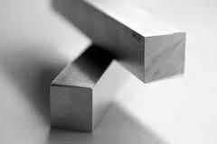 Barre di alluminio Fotografie Stock Libere da Diritti