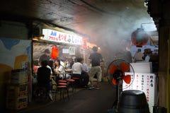 Barre di Backstreet di Tokyo Fotografie Stock
