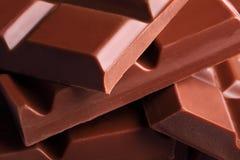 Barre di cioccolato Immagine Stock Libera da Diritti