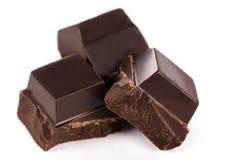 Barre di cioccolato scure immagine stock libera da diritti