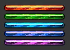 Barre di Colorfull Fotografia Stock