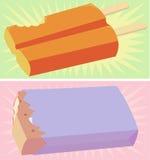 Barre di gelato Fotografie Stock Libere da Diritti