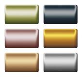 Barre di metallo per inserire testo o progettare Fotografia Stock