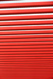 Barre di metallo rosse Immagini Stock