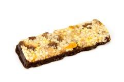 Barre di muesli di barre del cereale Barre della proteina dell'avena di Nutria Immagini Stock