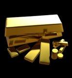 Barre di oro royalty illustrazione gratis