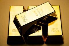 Barre di oro! Fotografia Stock Libera da Diritti