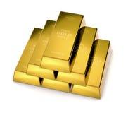 Barre di oro Immagine Stock