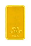Barre dorate immagine stock