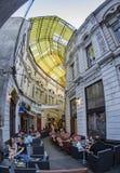 Barre et café de Bucarest Photographie stock libre de droits