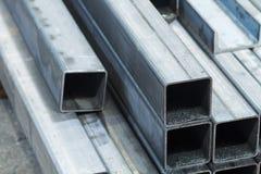 Barre fatte del acciaio al carbonio fotografia stock libera da diritti