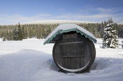 Barre fermée de montagnes Image libre de droits