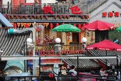 Barre in Houhai, Pechino immagini stock libere da diritti