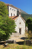 Barre la ciudad vieja, Montenegro Foto de archivo libre de regalías