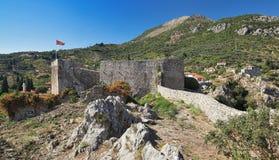 Barre la ciudad vieja, Montenegro Imágenes de archivo libres de regalías
