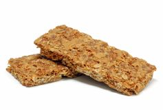 barre la granola Photos libres de droits