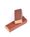 barre le chocolat Photographie stock