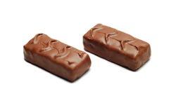 barre le chocolat image stock