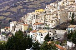 Barrea Italia Imágenes de archivo libres de regalías