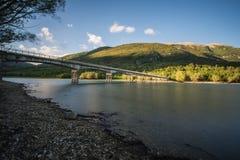 Barrea Lake, National Abruzzo Park, Italy Stock Image