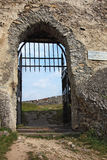Barred gates Royalty Free Stock Images