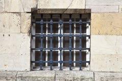 Barred Window Stock Image