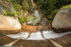 Barreira alpina Imagem de Stock Royalty Free