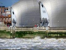 Barreira da inundação de Tamisa Imagem de Stock